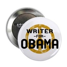 "Writer for Obama 2.25"" Button"