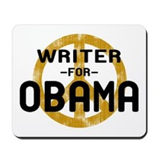 Writer for Obama Mousepad