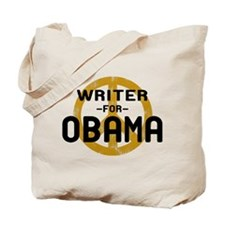 Writer for Obama Tote Bag