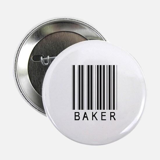 """Baker Barcode 2.25"""" Button"""