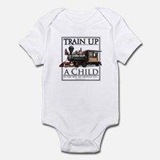 Train Up a Child Onesie