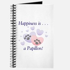 Happiness is . . . a Papillon Journal