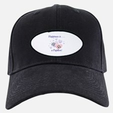 Happiness is . . . a Papillon Baseball Hat