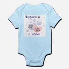 Happiness is . . . a Papillon Infant Creeper