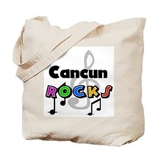 Cancun Rocks Tote Bag