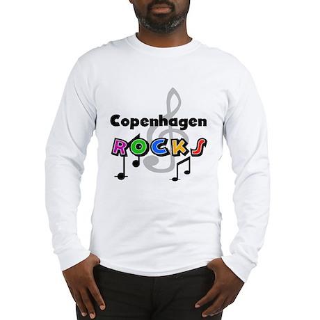 Copenhagen Rocks Long Sleeve T-Shirt