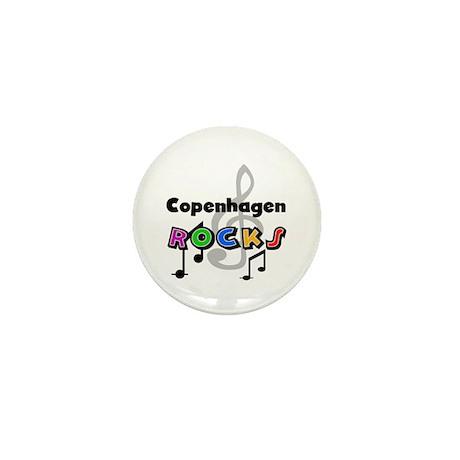 Copenhagen Rocks Mini Button (100 pack)