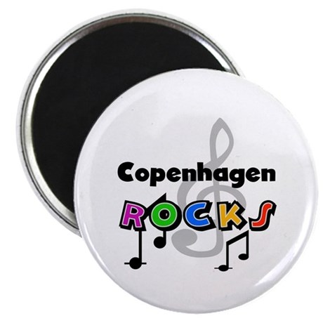 Copenhagen Rocks Magnet