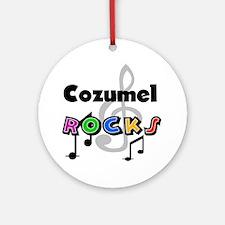 Cozumel Rocks Ornament (Round)