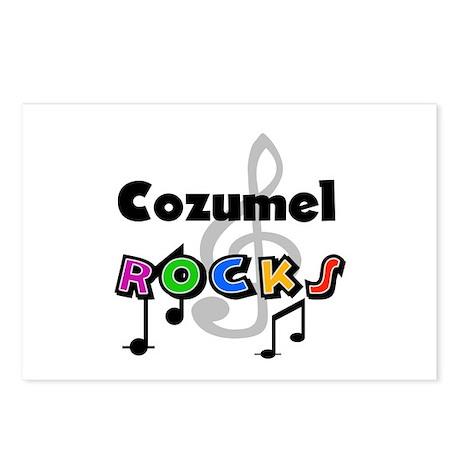 Cozumel Rocks Postcards (Package of 8)