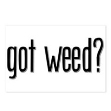 Got Weed? Postcards (Package of 8)