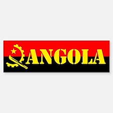 Angola Flag Bumper Bumper Bumper Sticker