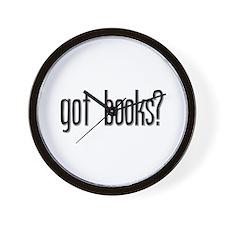 Got Books? Wall Clock