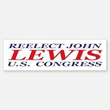 Reelect Lewis Bumper Bumper Bumper Sticker