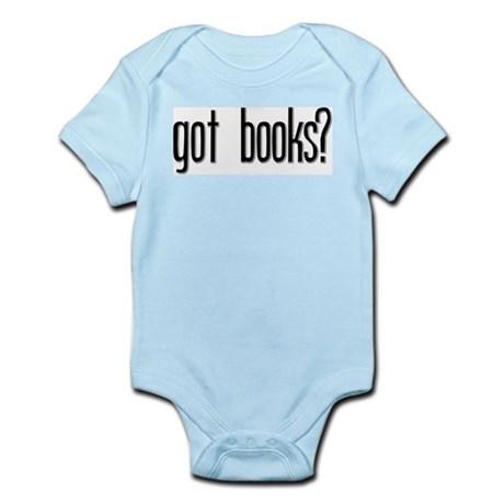 Got Books? Infant Creeper
