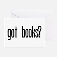 Got Books? Greeting Cards (Pk of 10)