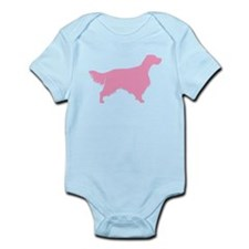 Pink English Setter Infant Bodysuit