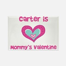 Carter Is Mommy's Valentine Rectangle Magnet