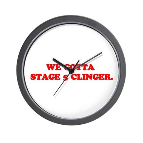 Stage 5 Clinger Wall Clock