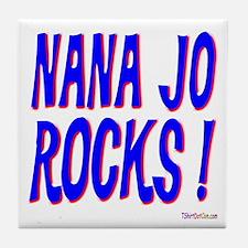 Nana Jo Rocks ! Tile Coaster
