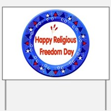 Religious Freedom Yard Sign