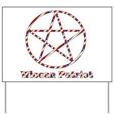 Wiccan Patriot Yard Sign