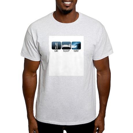 Eat, Sleep, Surf - Light T-Shirt