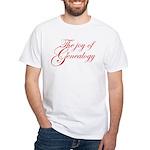 Joy Of Genealogy White T-Shirt