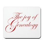 Joy Of Genealogy Mousepad