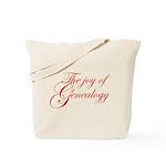 Joy Of Genealogy Tote Bag