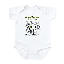 Never Be Peace Infant Bodysuit