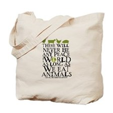 Never Be Peace Tote Bag