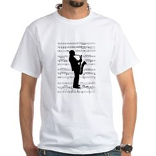 Jazz Saxophone on Shirt