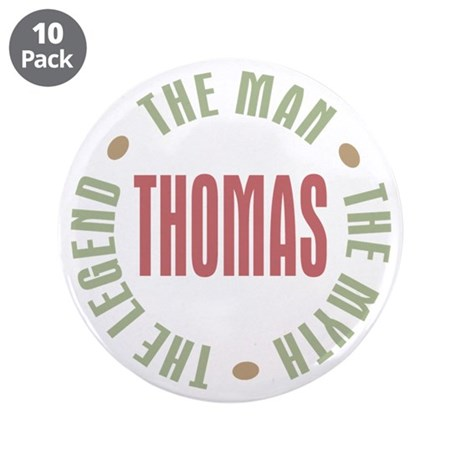 "Thomas Man Myth Legend 3.5"" Button (10 pack)"