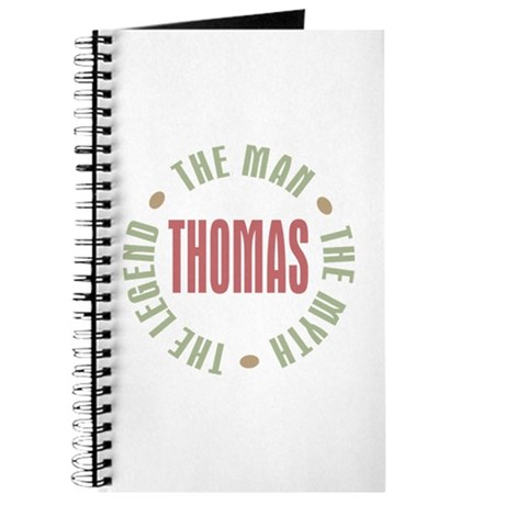 Thomas Man Myth Legend Journal