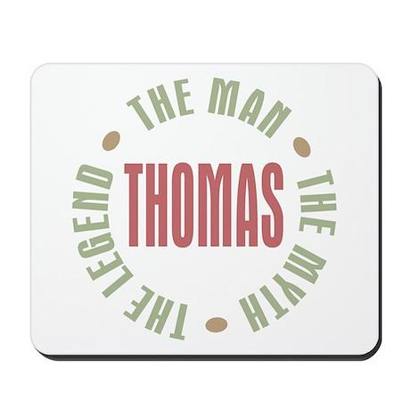 Thomas Man Myth Legend Mousepad