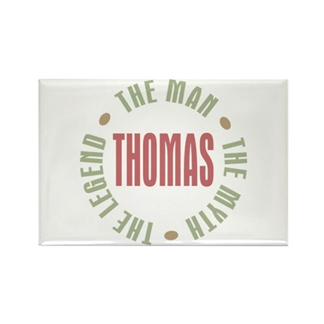 Thomas Man Myth Legend Rectangle Magnet (100 pack)