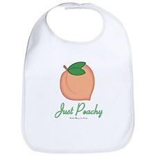 GA Just Peachy Bib