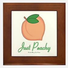 GA Just Peachy Framed Tile