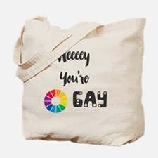 Cool Colorwheel Tote Bag