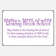 Roaring Brook School Banner