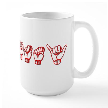 Smitty Large Mug