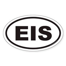 EIS Euro Oval Decal