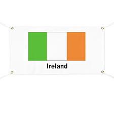 Ireland Irish Flag Banner