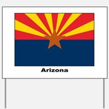 Arizona State Flag Yard Sign