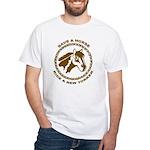 New Yorker White T-Shirt