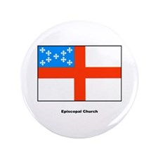 "Episcopal Church Flag 3.5"" Button"