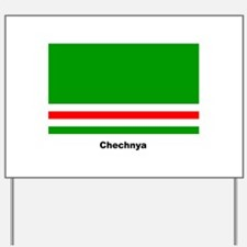 Chechan Chechnya Flag Yard Sign