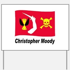Pirate Flag - Christopher Moo Yard Sign