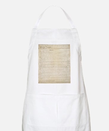 The Us Constitution Apron